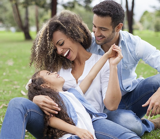 A family looking for an orthodontist in Bellevue or Seattle.